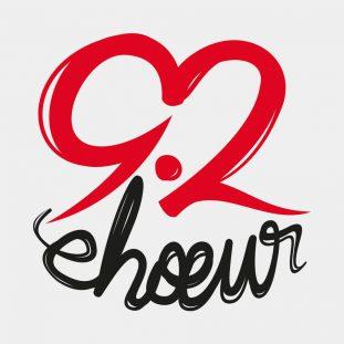92 chœur • création d'un logo pour une chorale